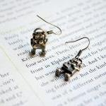 Robot Earrings, Dangle, Ant..